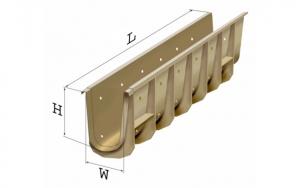 Ж/Д водоотводные лотки из композиционных материалов
