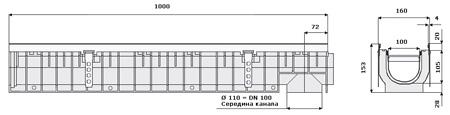 Пластиковый канал арт 41100