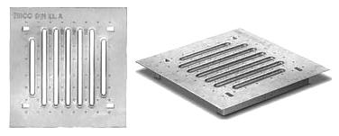 Решетка оцинкованная для дождеприемника ДК plus 30/30