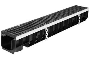 Каналводоотводный пластиковый Супер DN100 ЛВ 10.14,5.12