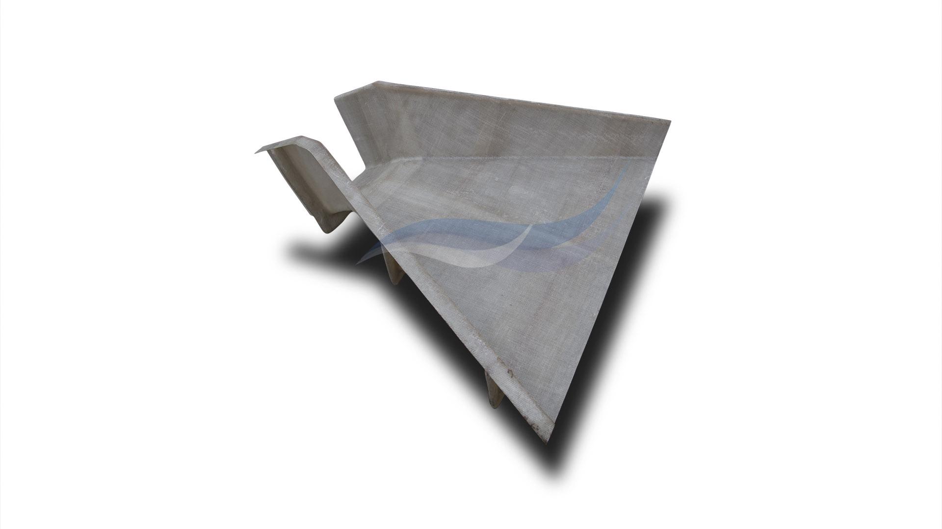 Приемный раструб из композитного материала