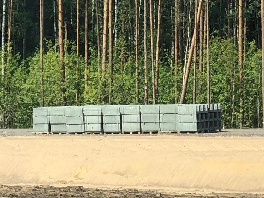 Поставка лотков на М11 Нева