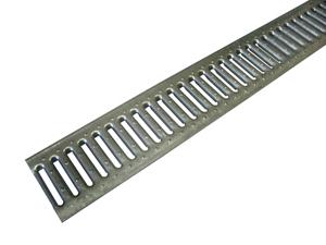 Решетка щелевая стальная оцинкованная DN100