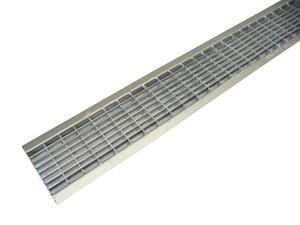 Решетка ячеистаястальная оцинкованная DN100