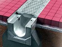 производство водоотводных лотков, лотки дренажные водоотводные,  бетонная ливневка
