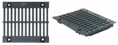 Решетки чугунные щелевые для каналов ЛВК BM Sir 300