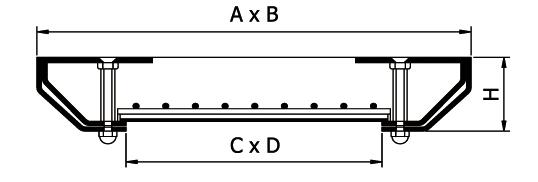 Параметры стандартных люков