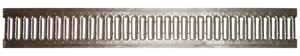 Решетка стальная штампованная изнержавеющей стали арт 5071