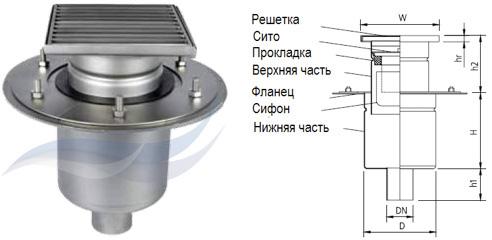 Трап мини W150/50V2