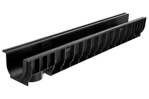 Лоток водоотводный пластиковый DN100 ЛВ 10.14,5.13,5