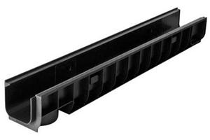 Пластиковый дренажный лоток DN100 ЛВ 10.14,5.12