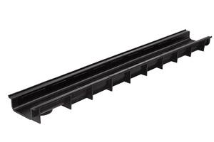 Пластиковый дренажный лоток DN100 ЛВ